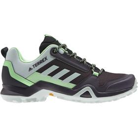 adidas TERREX AX3 Zapatillas Senderismo Mujer, tech emerald/green tint/glory mint